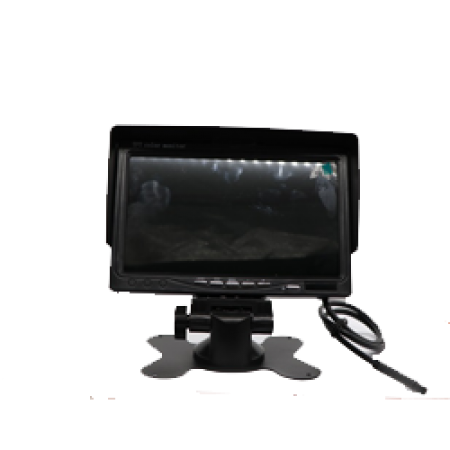 7 inch TFT- LCD Standalone Parking Monitor with Sunshade Optional