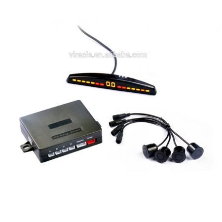 High Sensitive Automobile LED Display Human Voice Sound Alarm Electromagnetic Parking Sensor