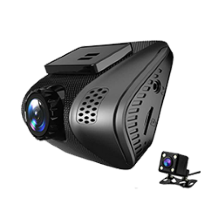 Dual Lens FHD 1080P Car DVR with WIFI
