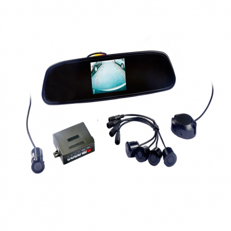 Video Parking Sensor with 3.5'' TFT Monitor and Camera